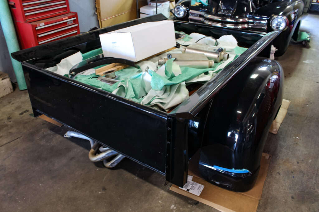 1950 Chevy Pickup Bed
