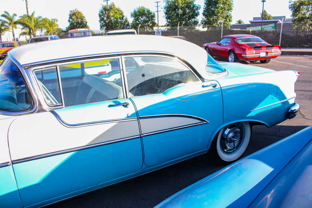 1956 Oldsmobile 88 Holiday Driver's Side Rear