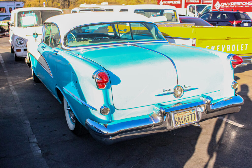 1956 Oldsmobile 88 Holiday Rear View
