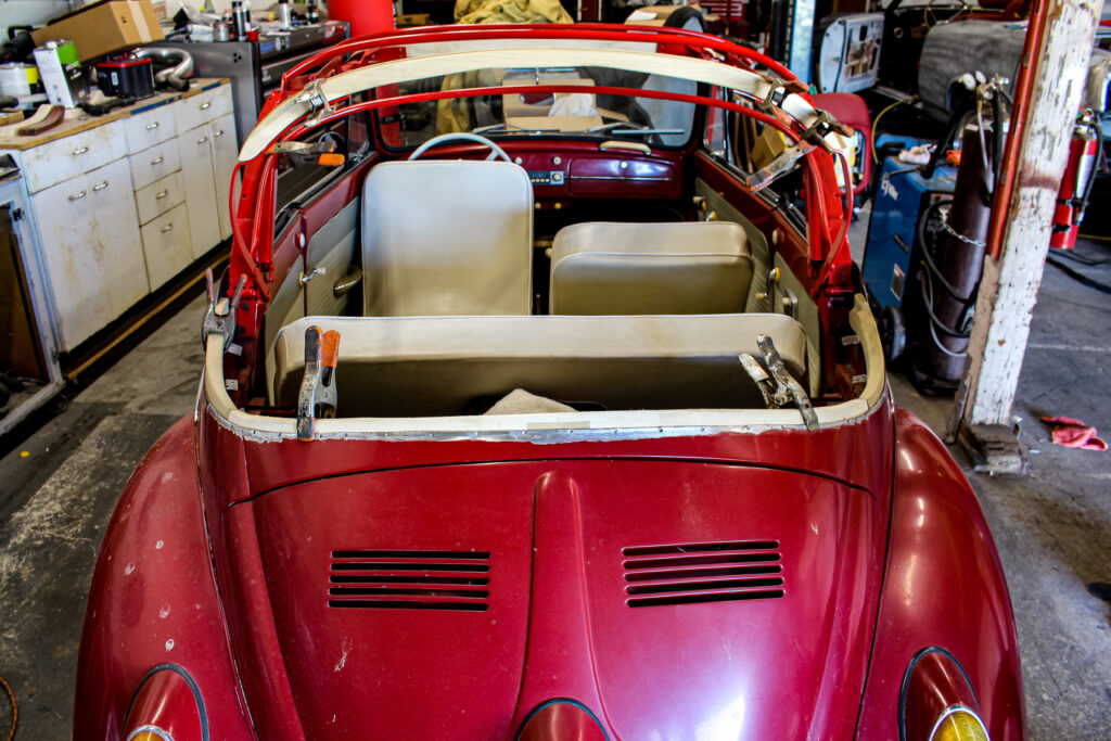 1962 Volkswagen Beetle Rear View