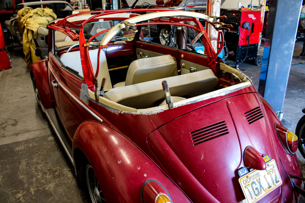 1962 Volkswagen Beetle Convertible Frame