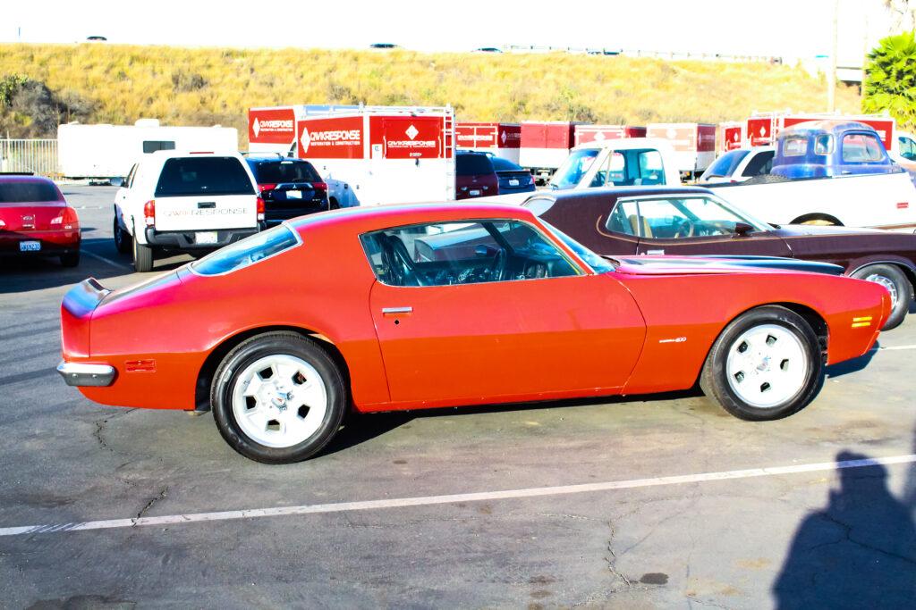 1971 Pontiac Firebird Side View
