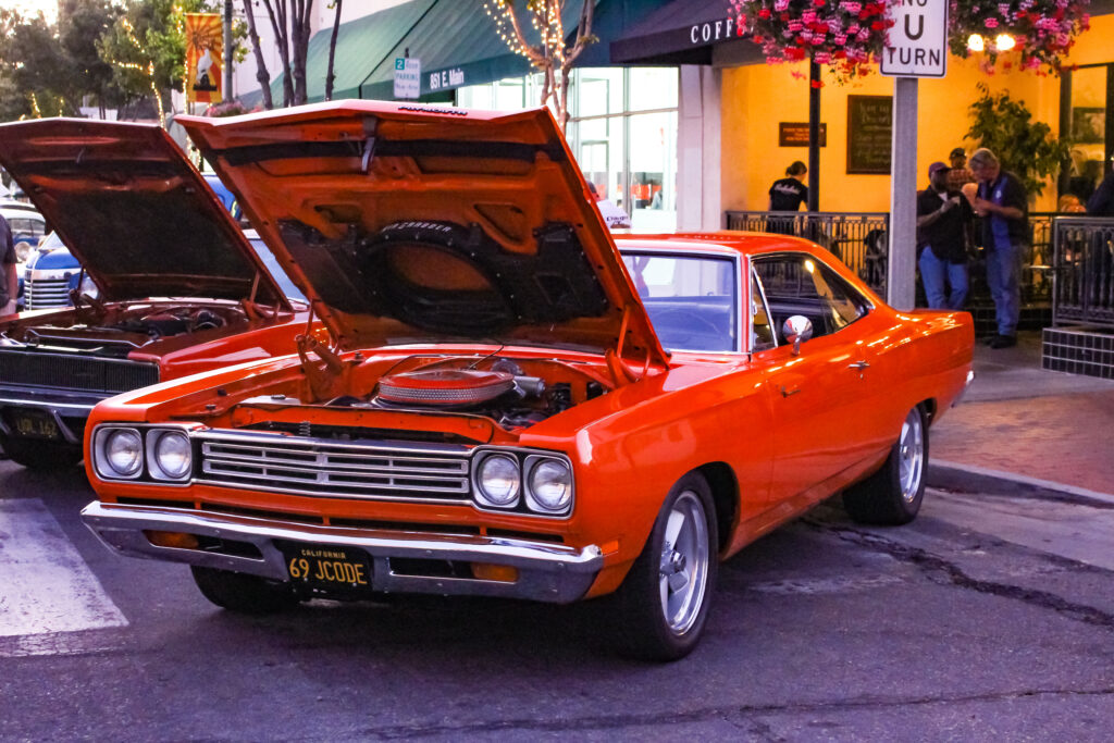 1969 Plymouth Hemi Roadrunner At The Santa Paula Car Show