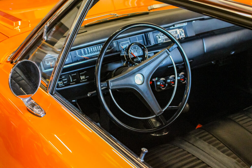 1969 Plymouth Hemi Roadrunner Steering Wheel