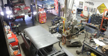 Full Scale Hot Rod Shop This Guy's Garage Article