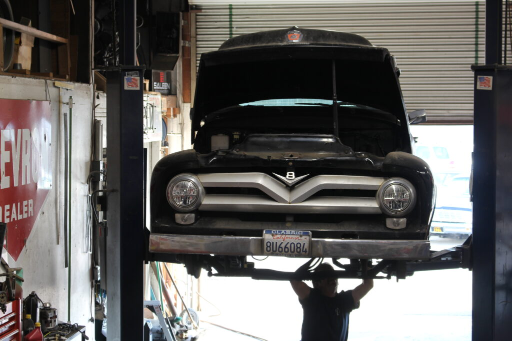 1953 Ford Pickup Truck Front View