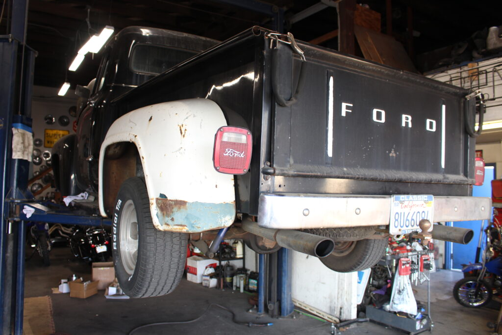 1953 Ford Pickup Truck Rear Angle