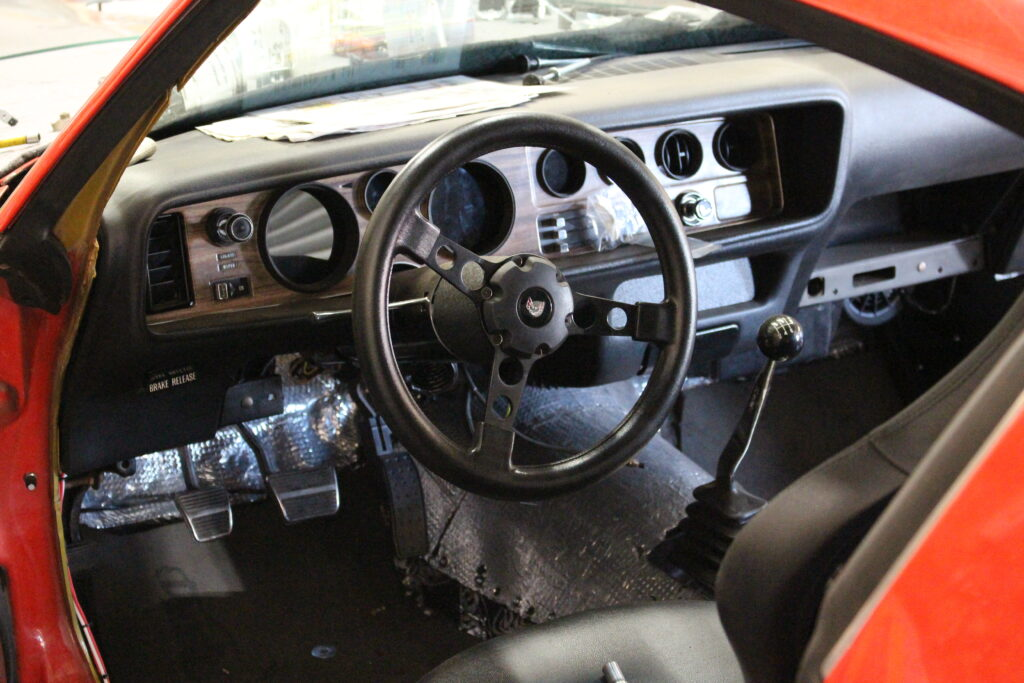 1971 Pontiac Firebird Steering Wheel