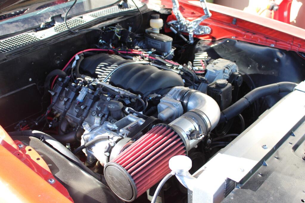 1971 Pontiac Firebird LS3 Engine