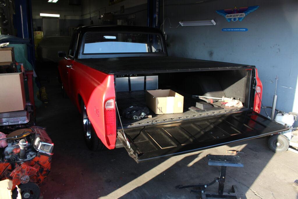 1972 Chevy C10 Pickup Truck Tailgate