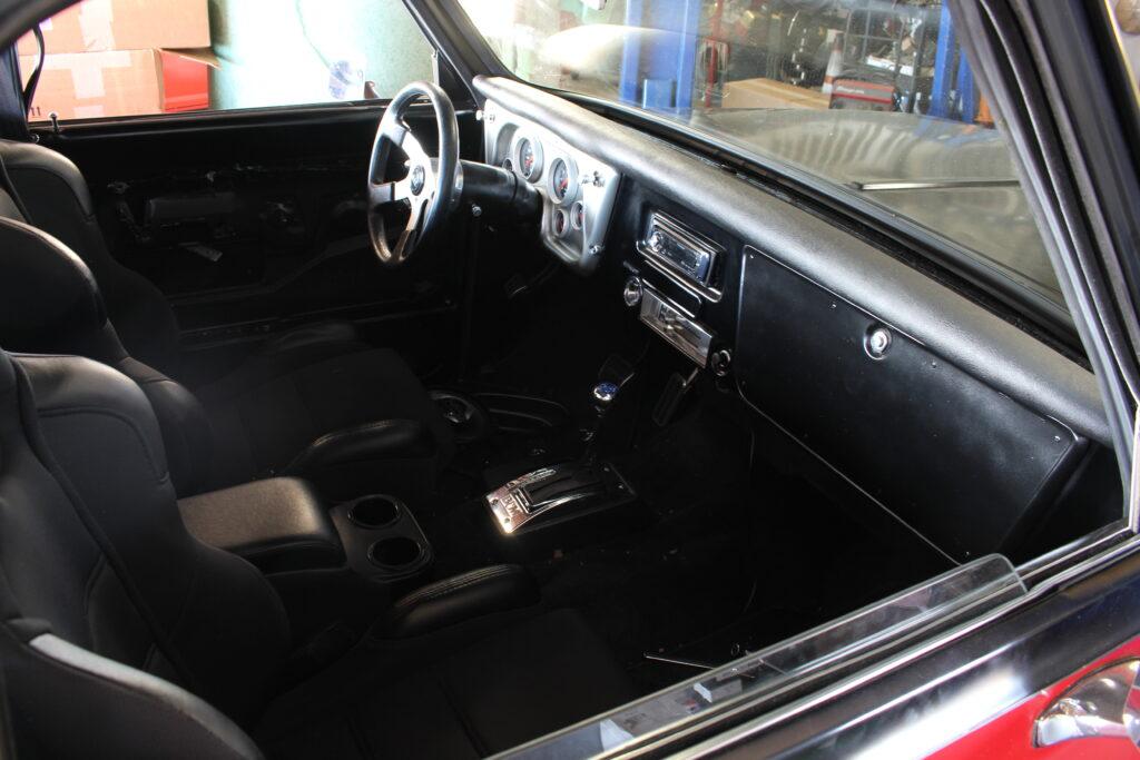 1972 Chevy C10 Pickup Truck Interior