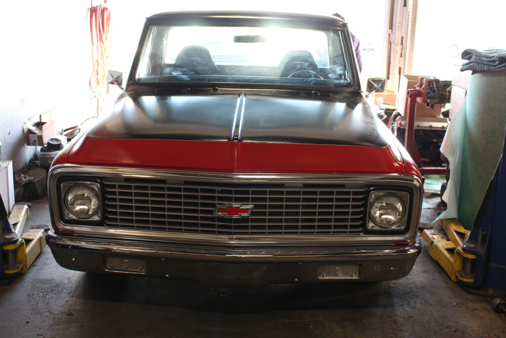 1972 Chevy C10 Pickup Truck Front View