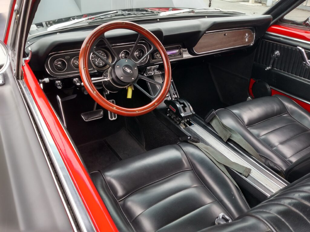 1966 Ford Mustang Dash View