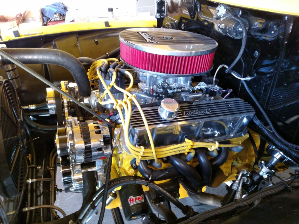 1956 Ford Pickup Truck Engine