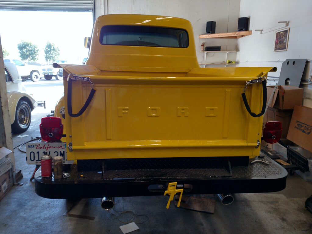 1956 Ford Pickup Truck Tailgate