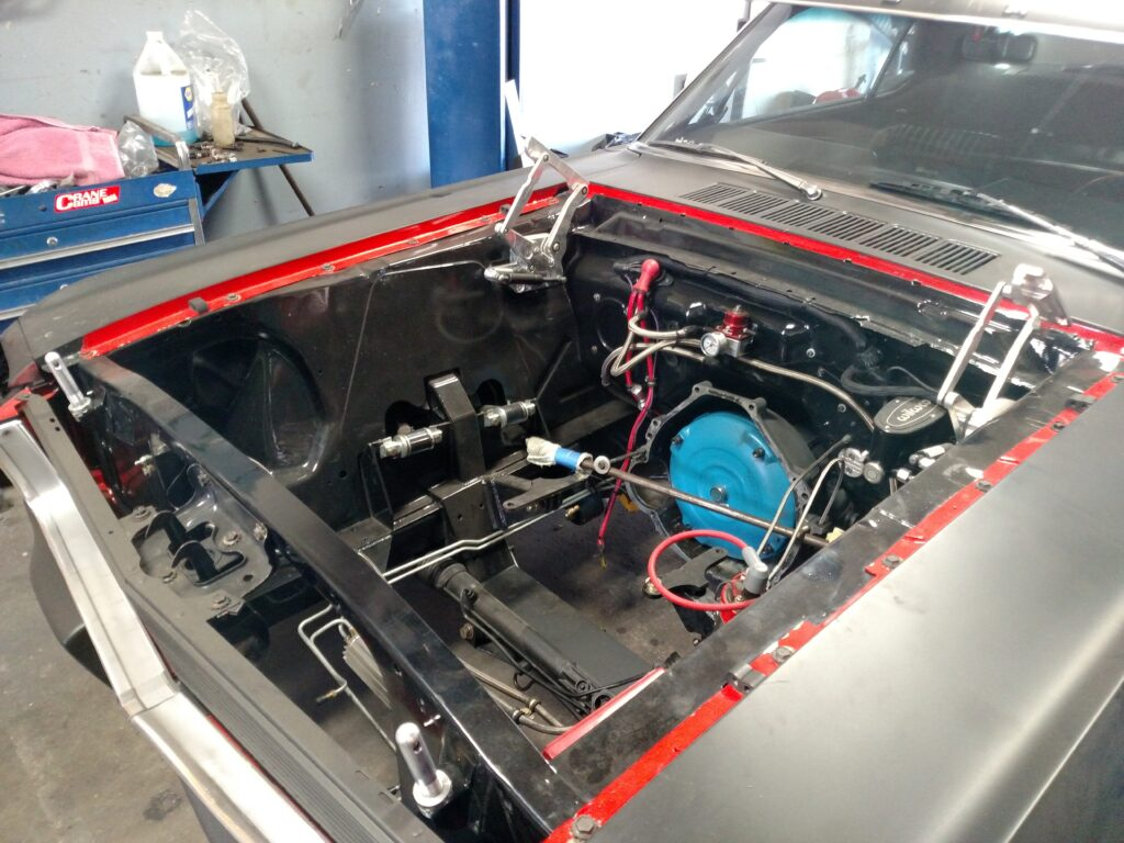 1966 Ford Mustang Engine Bay