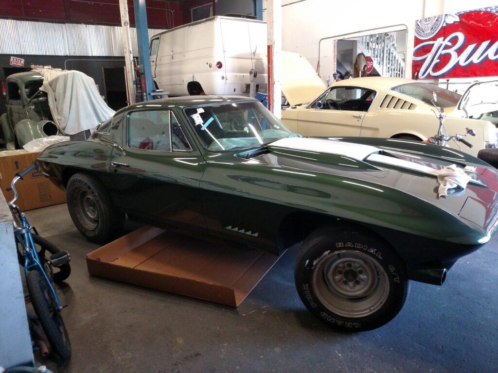 1967 Chevy Corvette Stingray Front Angle