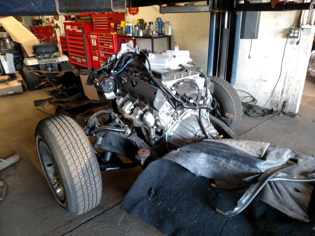 1963 Chevy Impala Engine