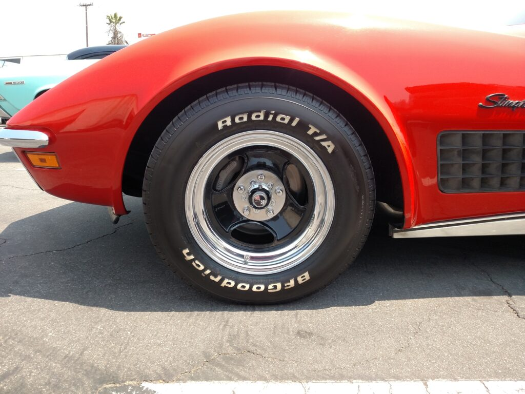 1970 Chevy Corevette Stingray Front Wheel