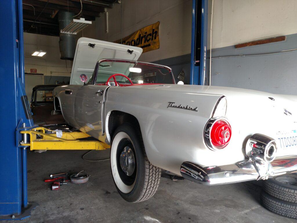 1955 Ford Thunderbird Alternate Angle