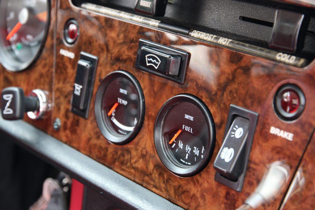 1972 Triumph GT6 Instrument PAnel