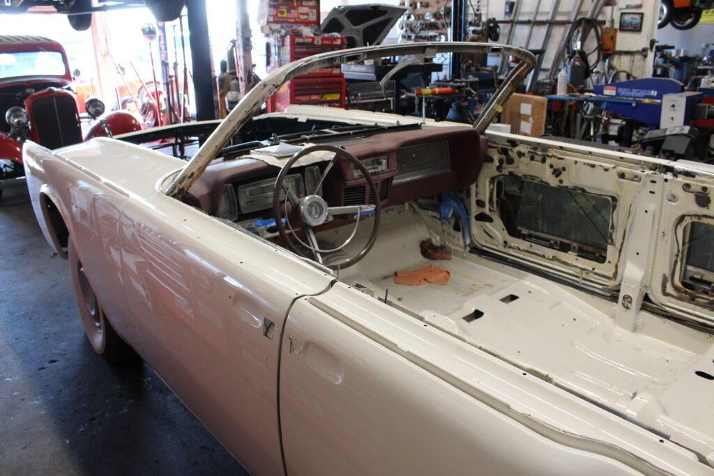 1963 Lincoln Continental Convertible Drivers Side