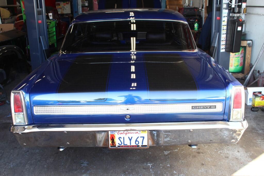 1967 Chevy Nova Rear