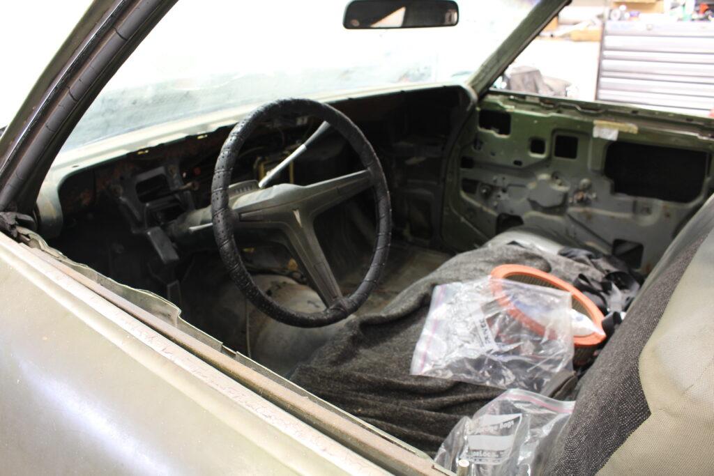 1969 Pontiac Tempest Custom Dash