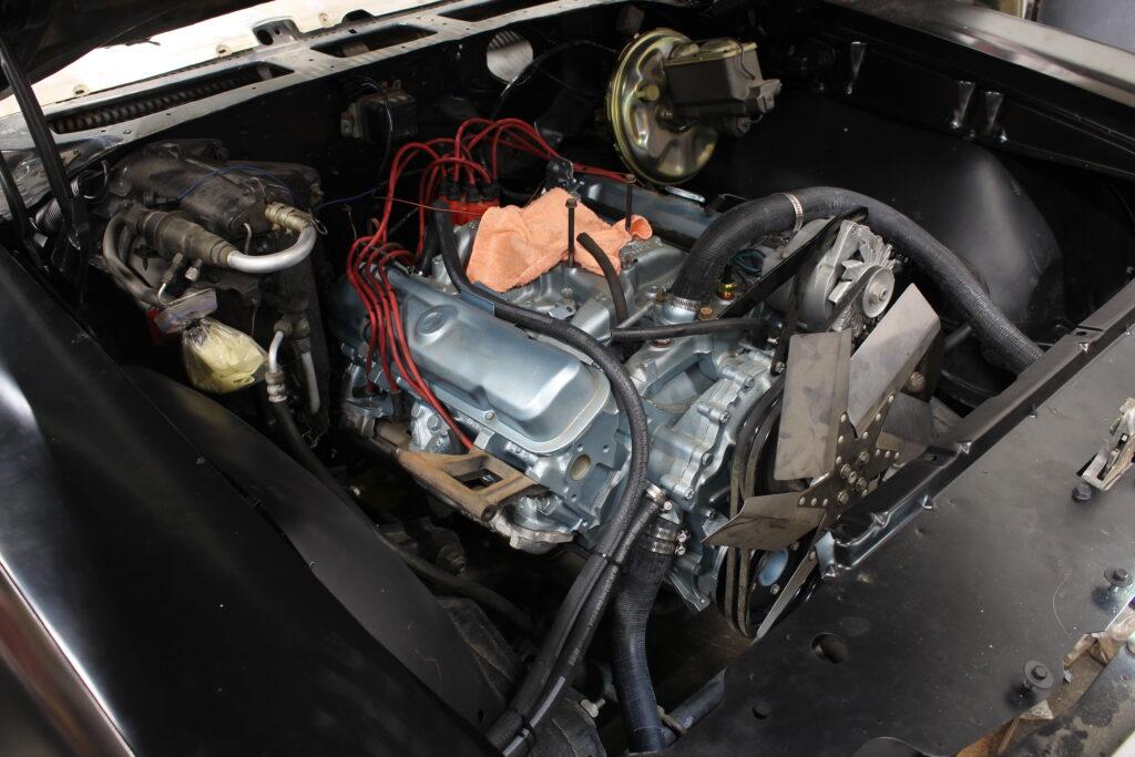 1969 Pontiac Tempest Custom Engine