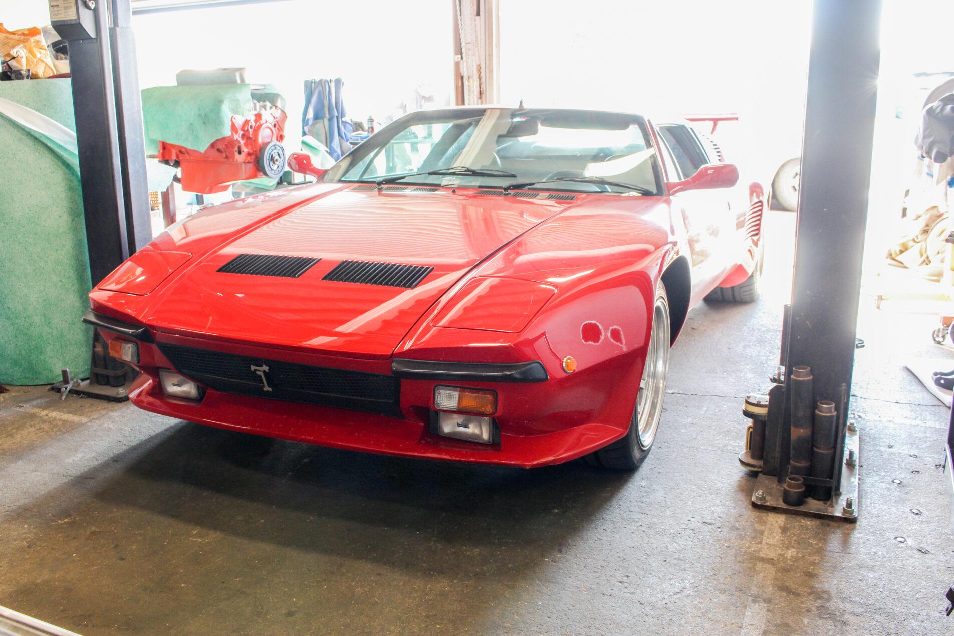 1985 De Tomaso Pantera GTS